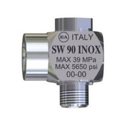SW90 - Giunto girevole 90° acciaio inox